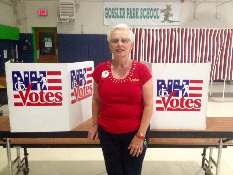 Lucille Forest, moderator of Ward 11, says as of noon, 410 people voted. At noon on Presidential Primary Day, the ward had seen 1000 voters.