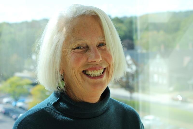 Poet Nancy Jean Hill.