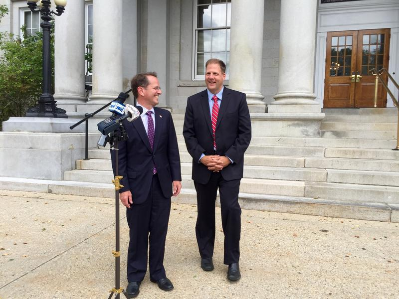 Former Republican gubernatorial rivals Frank Edelblut and Chris Sununu vowed to work together now that the latter is the party's nominee.