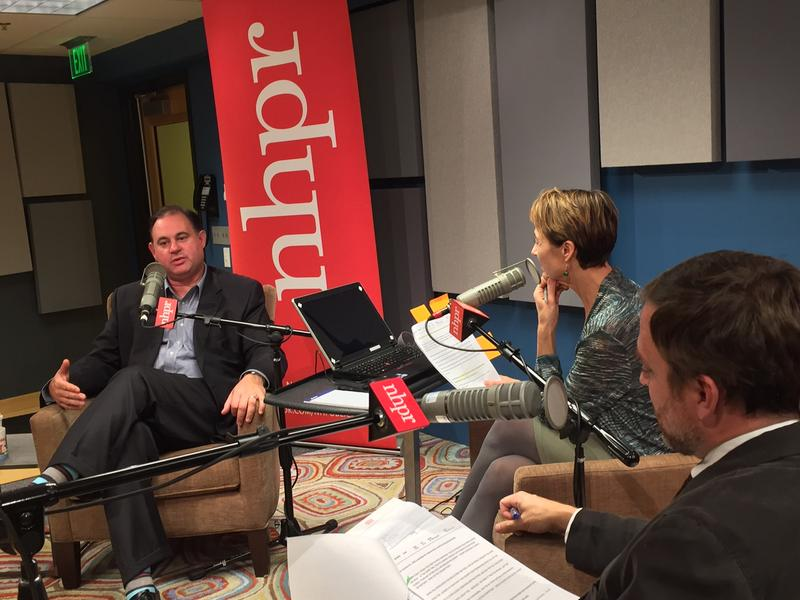 Frank Guinta, Laura Knoy, and Josh Rogers discuss Guinta's campaign
