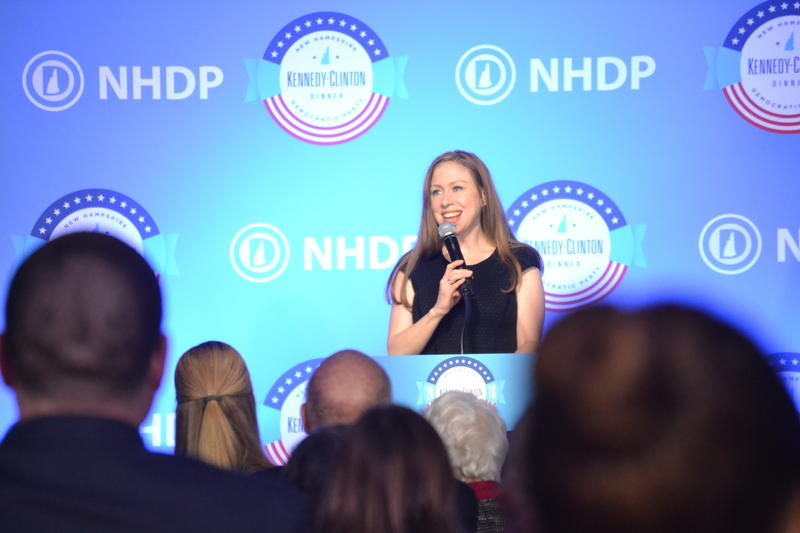 Over the weekend, Chelsea Clinton urged N.H. Democrats to make final push these next few days.