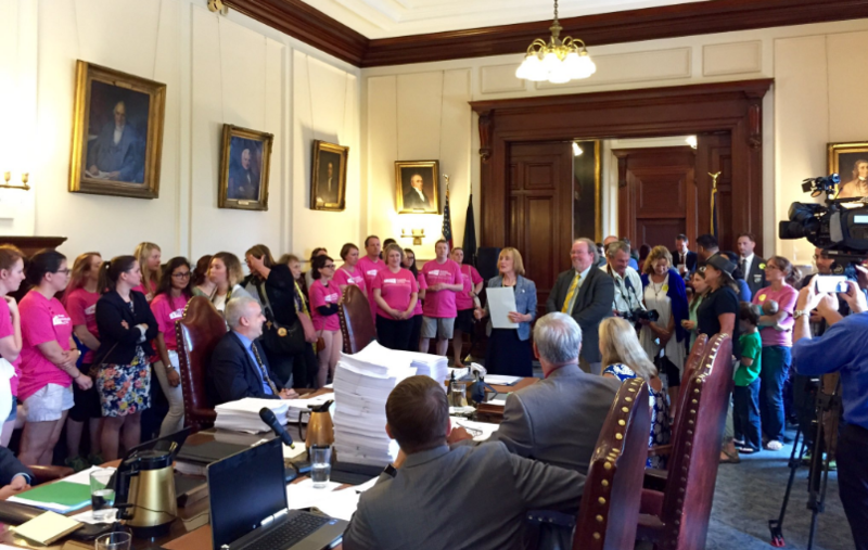 When a high-profile Planned Parenthood contract came before the state Executive Council earlier this year, the room was packed with activists on both sides of the debate.