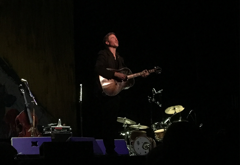 Josh Ritter performs at the Capitol Center for the Arts in Concord, NH