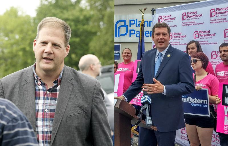 Chris Sununu and Colin Van Ostern