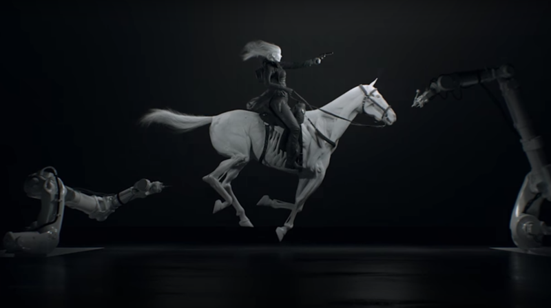 In the opening credits of HBO's Westworld, 3D printing is envisioned as a technology to create robots in human and animal form