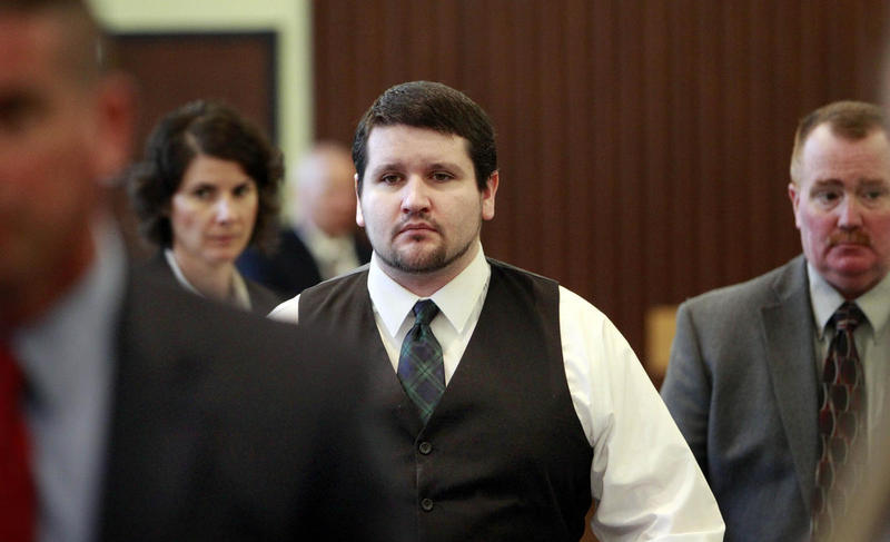 Seth Mazzaglia, 34, is currently serving his life sentence for the rape and murder of 19-year-old Lizzi Marriott at the state prison in Berlin.