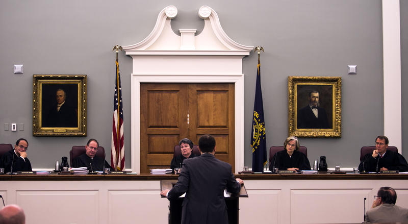 The N.H. Supreme Court heard arguments Wednesday, Nov. 16, 2016 on whether Seth Mazzaglia, who's serving a life sentence, deserves a new trial.