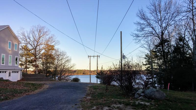 A view of Little Bay in Durham, where Eversource has proposed burying a new set of power lines.