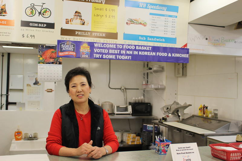 Helen Han is the owner of Go Food Basket in Concord, N.H.