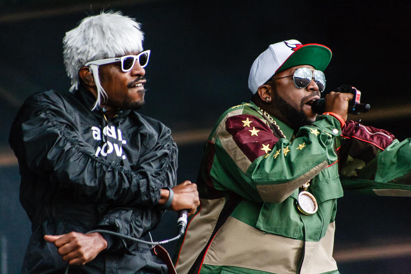 OutKast performing at Wireless Festival Birmingham 2014.