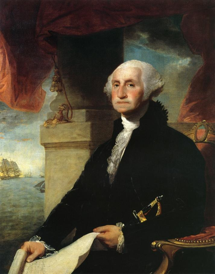 Gilbert Stuart's Portrait of George Washington, 1796