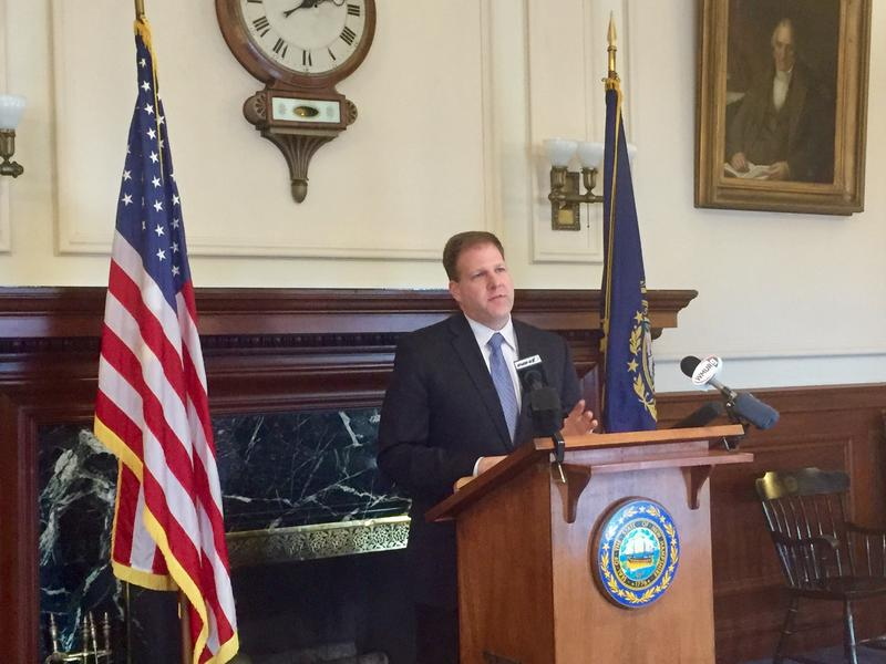 In Gov. Chris Sununu's first press conference he tells reporters the state is projected to overspend current budget.