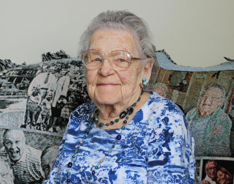 Lillian Morris of Berlin served as nurse during World War II.