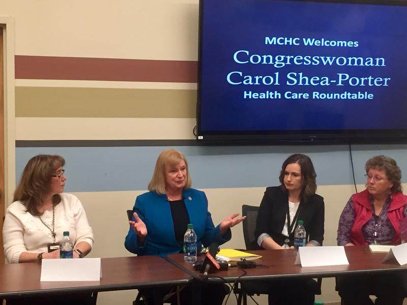 Congresswoman Carol Shea-Porter heard from health care workers in Manchester on how the ACA has been helping patients and care.