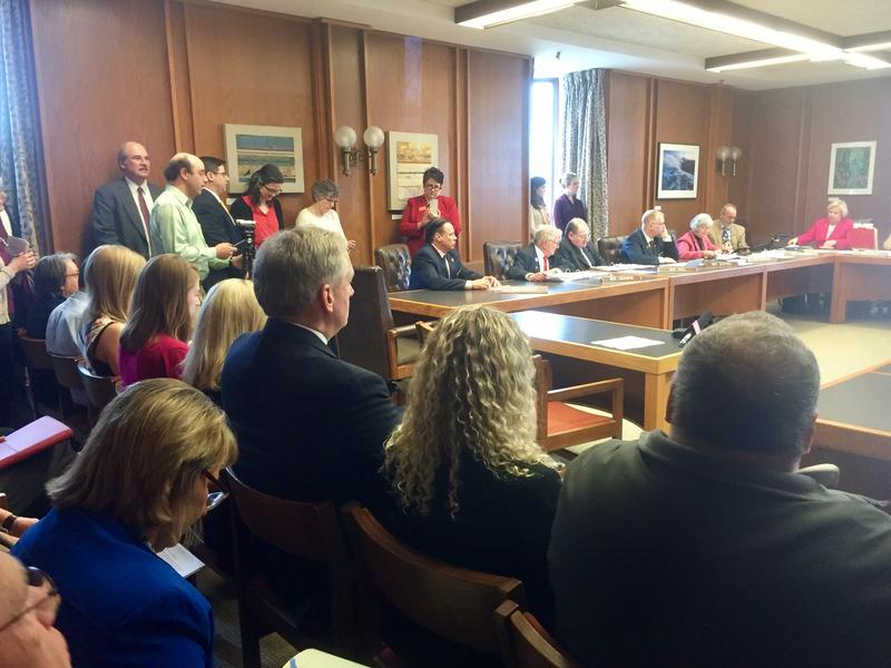The House Judiciary Committee was packed Tuesday with supporters of a bill seeking to better define the state's Rape Shield Law.