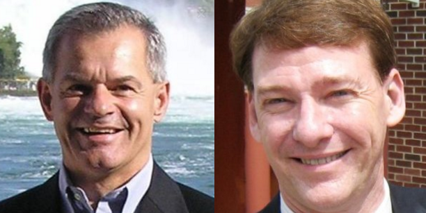 Peter Kujawski of Bedford (left) was choosen to lead the state's Environmental Services Department and Kenneth Merrifield of Franklin (right) was picked to lead the state's Labor Department.