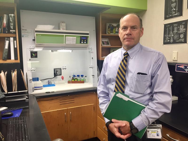 State Forensic Lab director Tim Pifer.