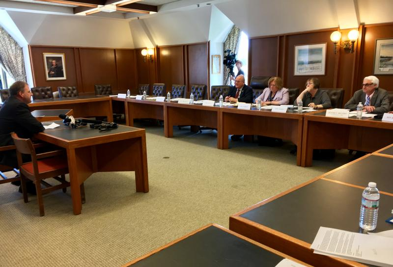 Gov. Chris Sununu voiced support for a number of proposed DCYF reforms at Tuesday's meeting of the Special Joint Committee on the Division for Children, Youth and Families.