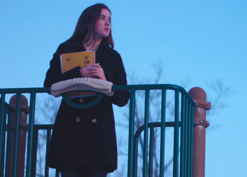 A scene from the short film, 'Mourning Dove,' produced by students at Phillips Exeter Academy for the 2017 New Hampshire High School Short Film Festival.