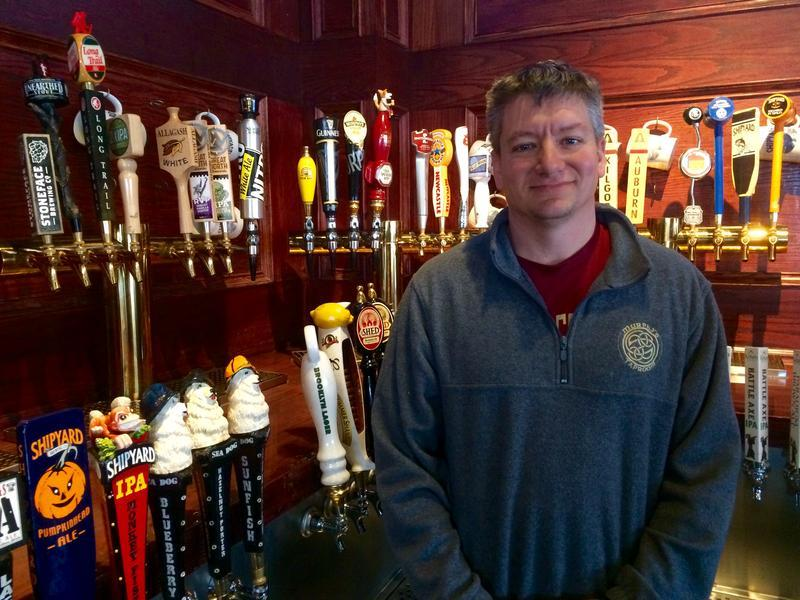 Keith Murphy, who owns Murphy's Taproom in Manchester, says requiring a waiver from the liqour commission to hire a former felon as a server or bartender is an archaic and unfair law.
