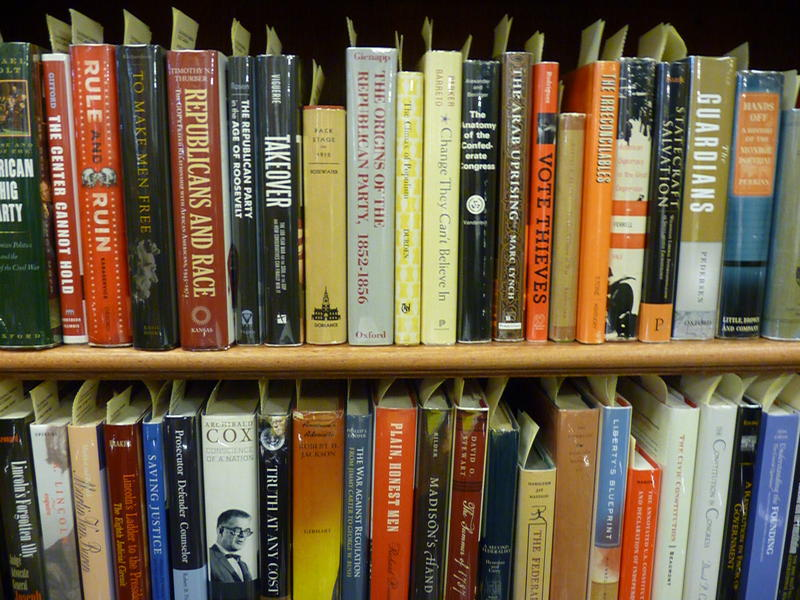 Saint anselm welcomes new trove of political books new hampshire the new hampshire political library inside the st as institute of politics is now home to more than 2700 books on the presidency malvernweather Images