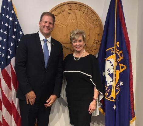 After his meeting with the Small Business Administration, Gov. Chris Sununu said he's also hoping to see that agency have a more prominent presence in New Hampshire.