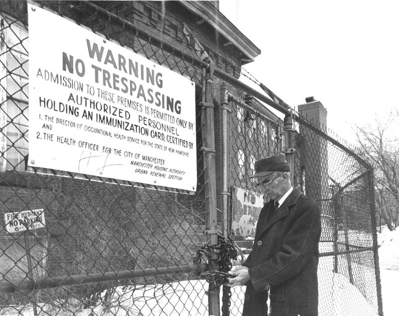60 years ago, workers inside the Arms Textile Mill in Manchester began getting sick with anthrax, leading to a massive public health investigation