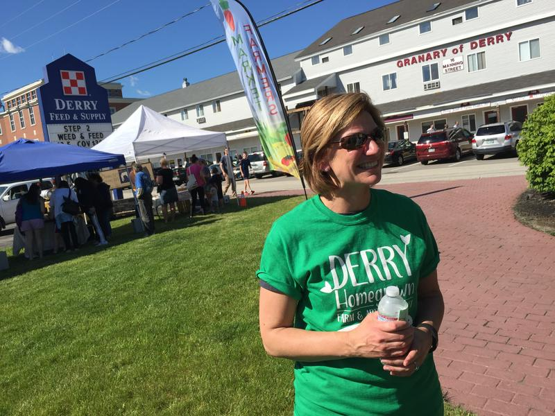 Terri Pastori is among the group that worked on bringing a farmers market back to Derry after the old one folded in 2015.