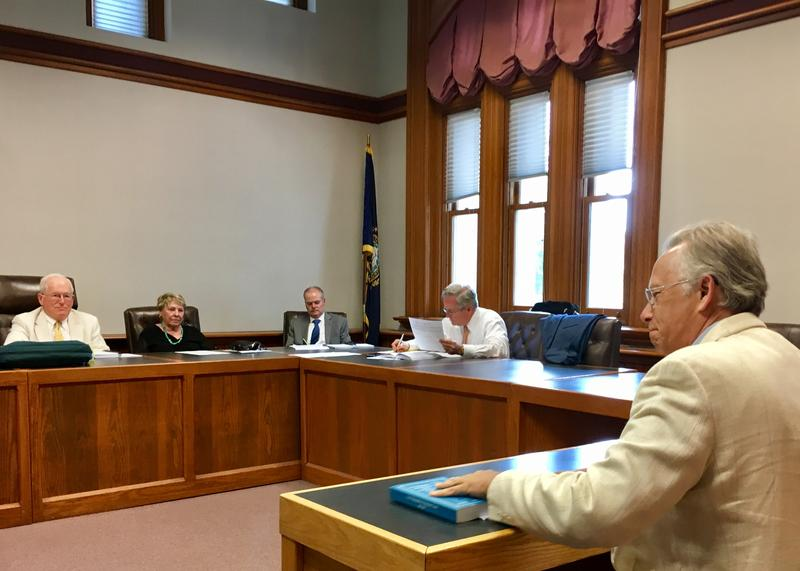 Prospective Libertarian House candidate John Babiarz, of Grafton, took his case to the Ballot Law Commission. The commission granted him access in an upcoming primary.