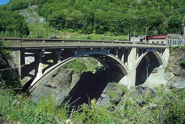 The Vilas Bridge seen in 2008