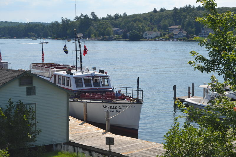 The Sophie C was built specifically for this Lake in South Boston. It's named after the owner's wife - Sophie Caroline.