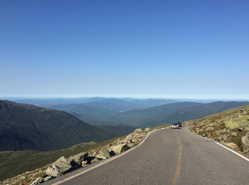 The Mount Washington Auto Road is a challenging 7.6-mile uphill route.