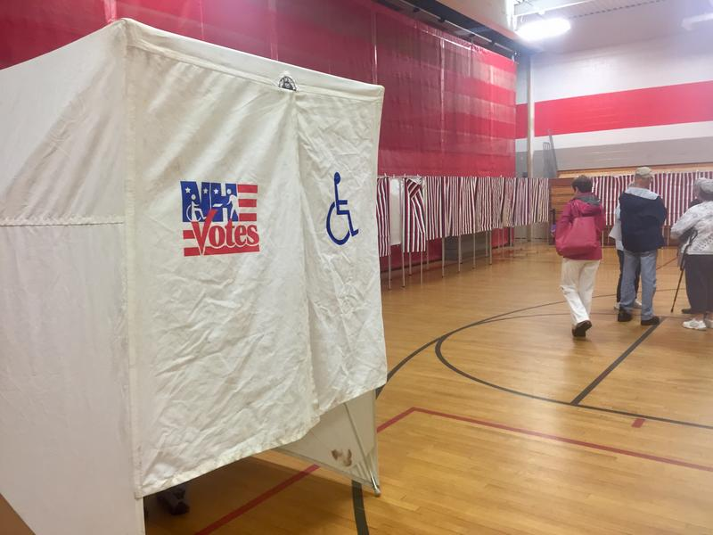 The polling center in Bow estimated to see just over 1,200 voters for Tuesday's special election.