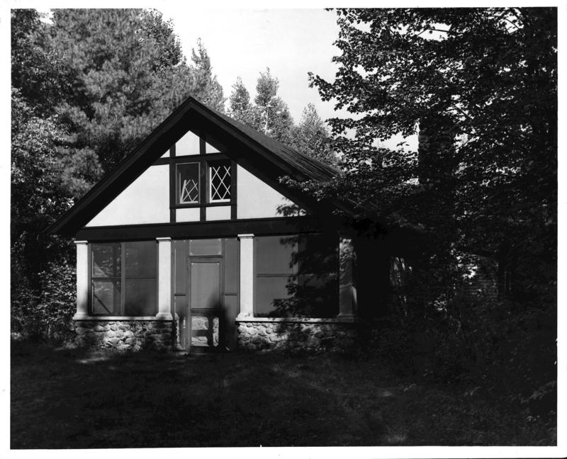 The Irving Fine studio at the MacDowell Colony