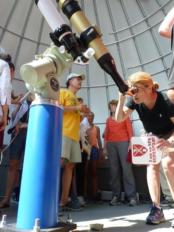 St. Paul's School in Concord opened up its solar observatory for eclipse viewing.