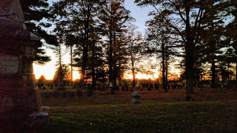 According to organizers of the event, the Pine Hill Cemetery in Dover contains more than 30,000 graves