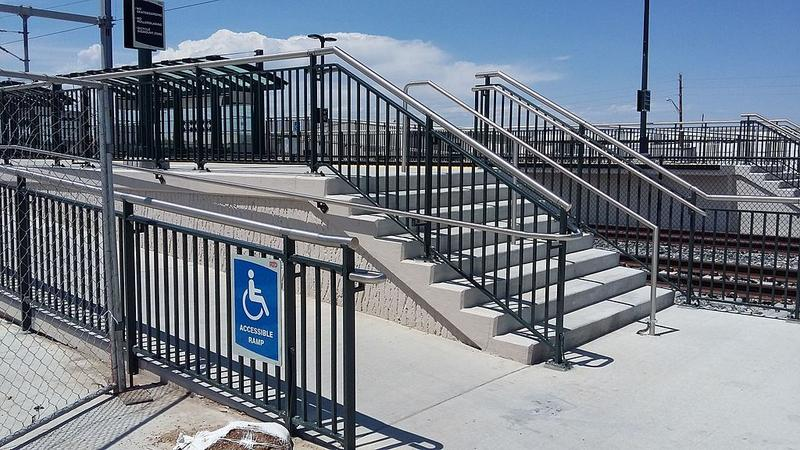 Accessible Commuter Rail Platform