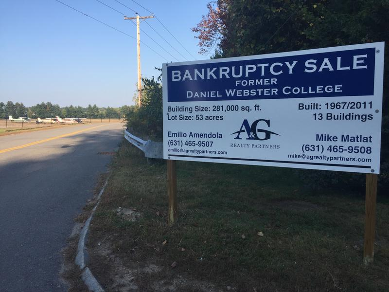 The 53-acre campus has been for sale since the Spring. It went to auction Monday.