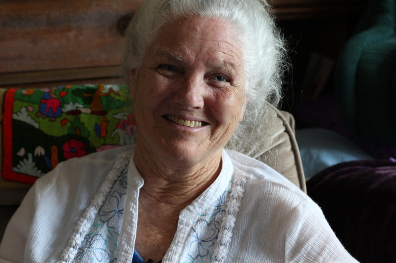 Ginny Timmons served in Vietnam as an Army nurse.