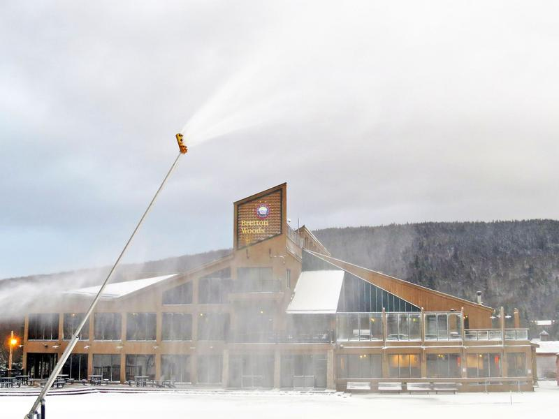 Bretton Woods is the first ski resort to start the New Hampshire ski season this year.