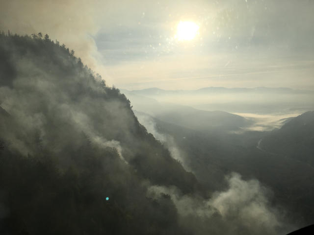Dilly Cliff Fire