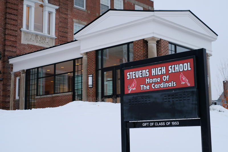 Administrators at Stevens High School in Claremont say if proposed budget cuts go through, they'll have to eliminate their crisis counselor, among other positions.