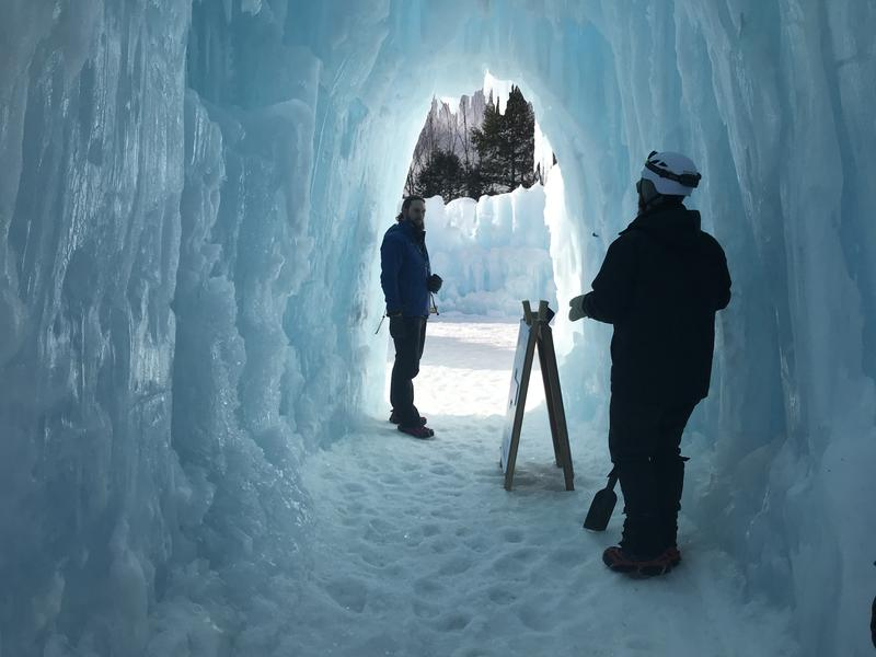 Ice Castles in Lincoln, N.H., a perennial winter attraction.