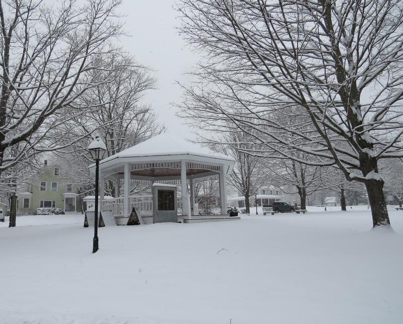 North Hampton bandstand