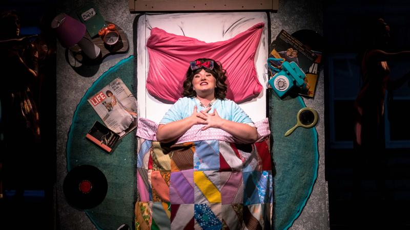 The show opens with Tracy Turnblad waking - and singing - in bed.