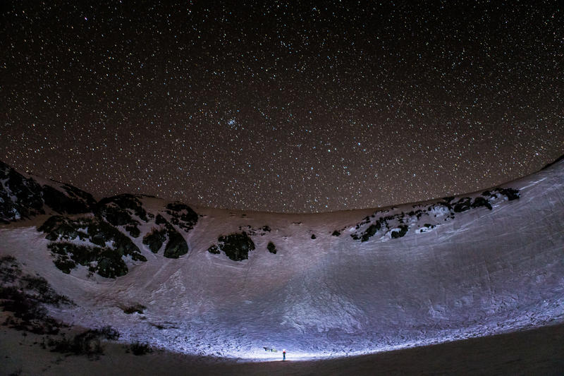 Tuckerman Ravine at Night
