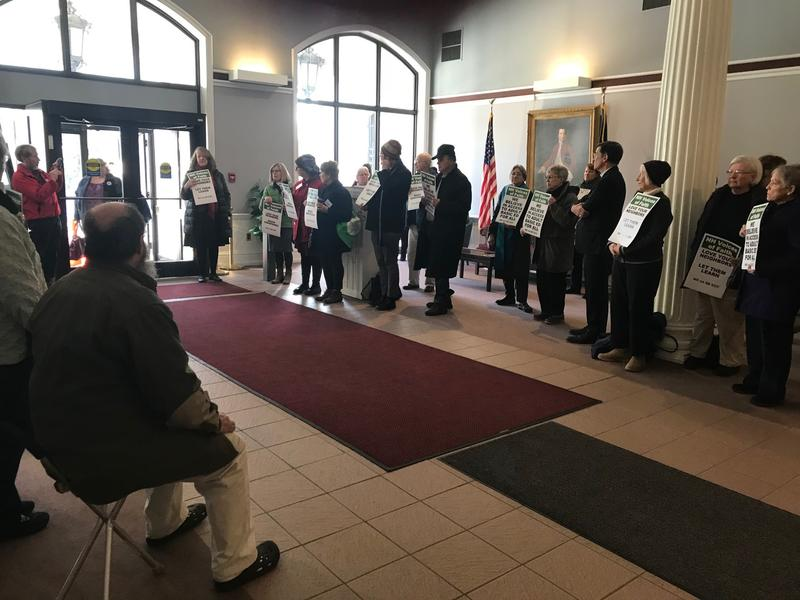 There were more than 80 signatures in opposition to SB525 during a Senate Education Committee hearing in February. Opponents of the bill worry it will unfairly target adult immigrants who take advantage of English as a Second Language classes.
