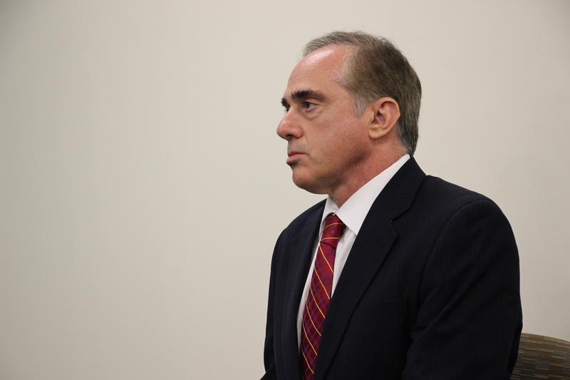 VA Sec. David Shulkin at the Manchester, N.H. VA Medical Center on Friday, August 4, 2017.