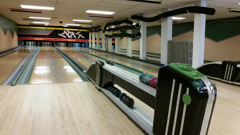The bowling alley at Room 111 in Woodsville opened in 1916. The wooden lanes and pin setting machines were last updated in 1954.