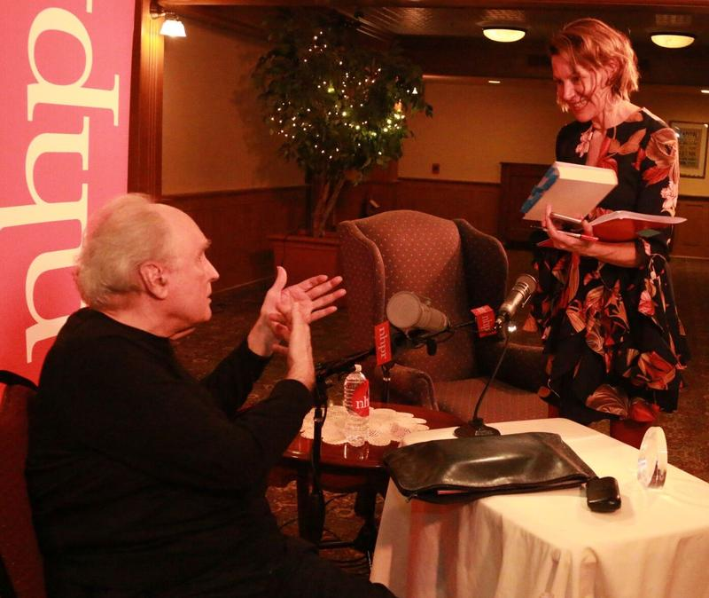 Frank Bidart speaks with NHPR's Virginia Prescott at the Capitol Center for the Arts.